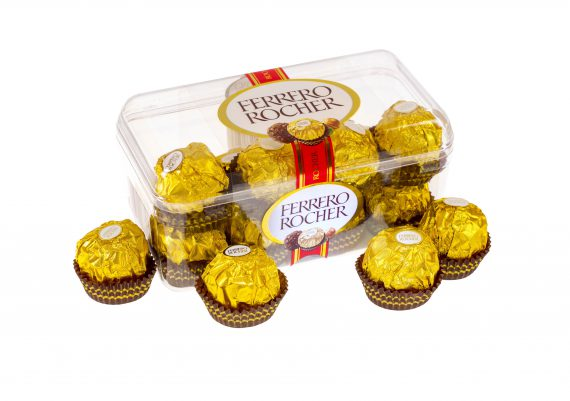Fotografie produse alimentare, bomboane ciocolata pe fundal alb,