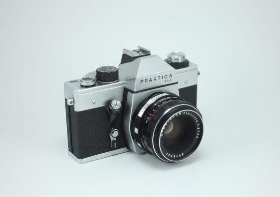 Fotografie vintage Praktica LLC Pentacon 1.8_50mm