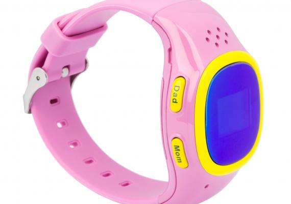 Fotografie smartwatch copii pe fundal alb